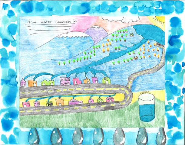 Above: The winning poster was submitted by Meghan Kaschner, a sixth grader from E.J. Martinez Elementary.