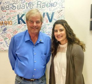 Andy Otto (Santa Fe Watershed Association) and Christine Chavez (City's Water Conservation Office)