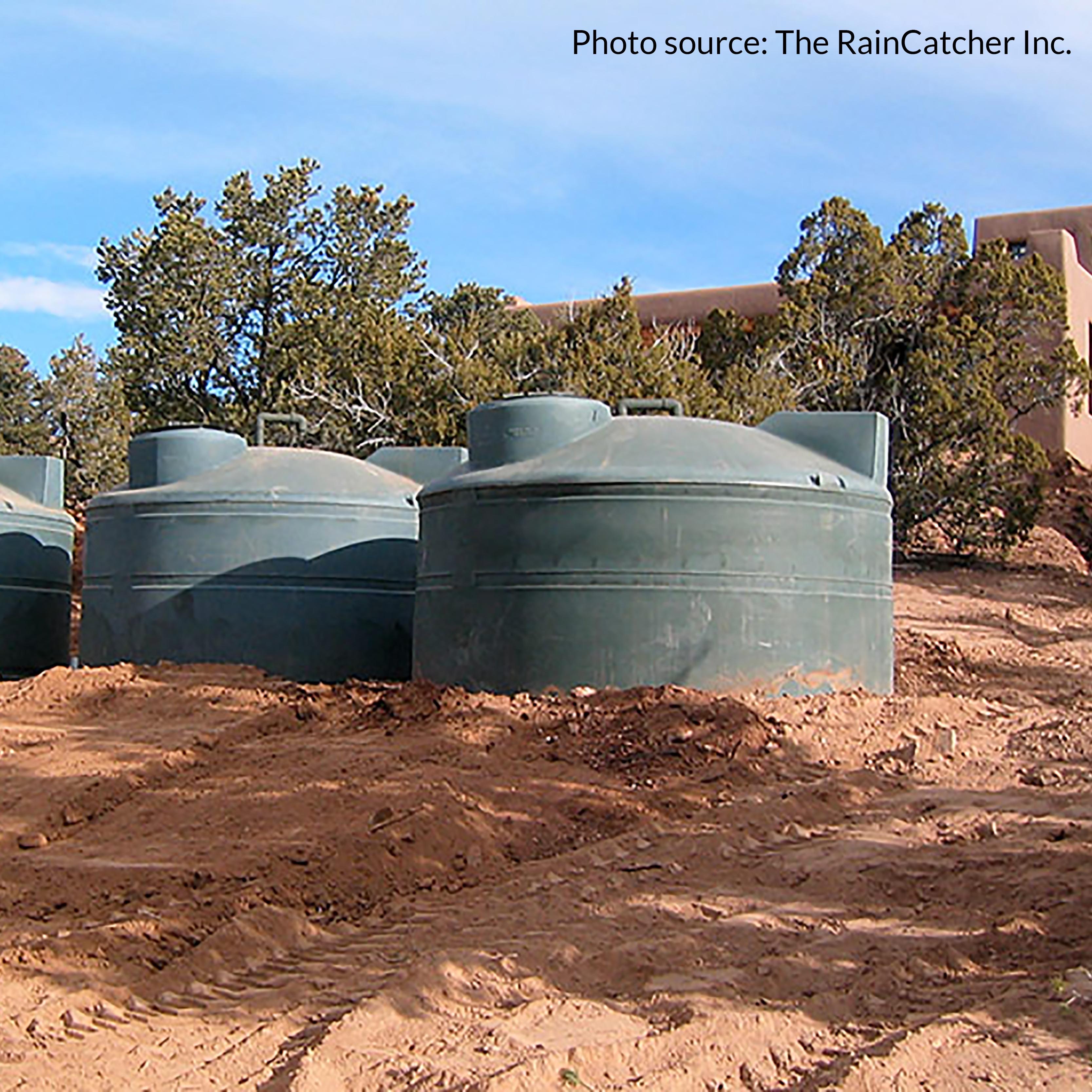 above ground cistern